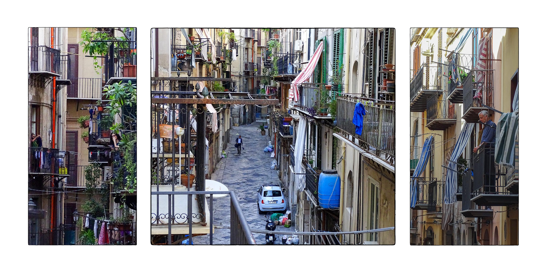 Winfried Toussaint - Leben in Palermo