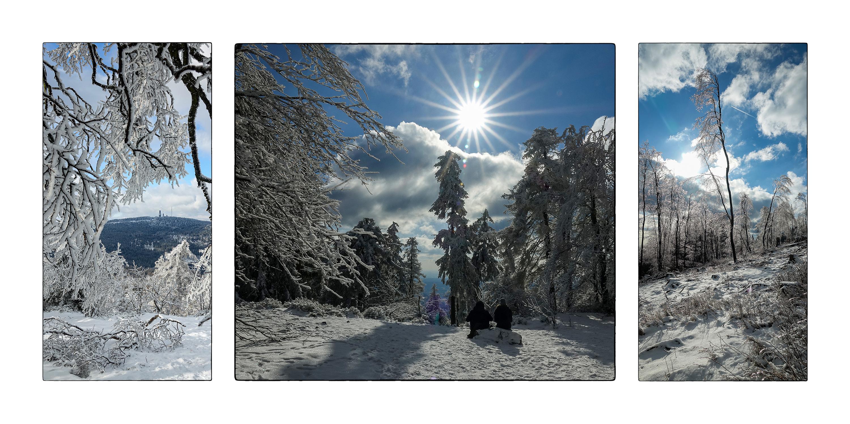 Winfried Toussaint - Winterlandschaft auf dem Altkönig